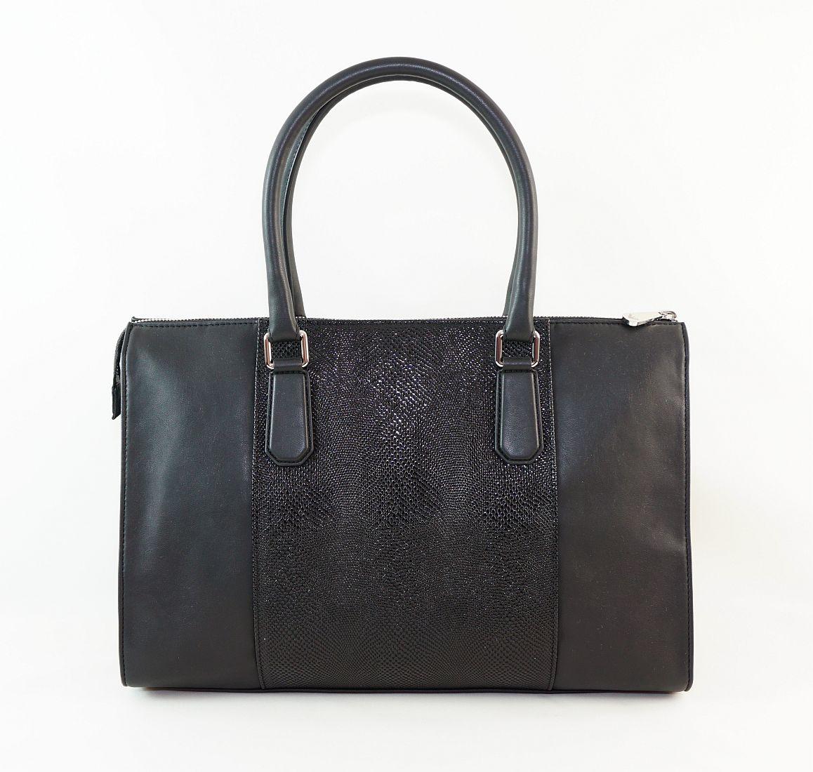 Armani Jeans Handtasche Shopper Tasche 922060 6A725 00020 Nero HW16-1