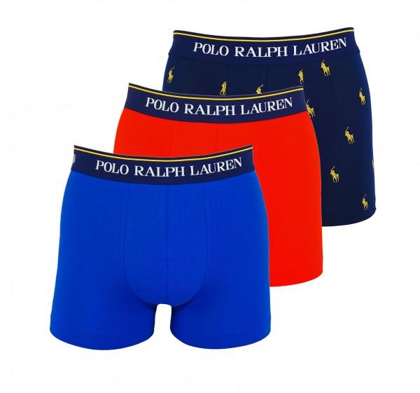 Ralph Lauren 3er Pack Trunks Classic 71466205 0057 navy, red, blue WF20-RL1