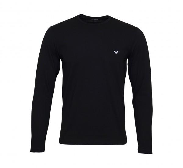 Emporio Armani Longsleeve Shirt 111653 9P722 00020 schwarz SS19-EAL1