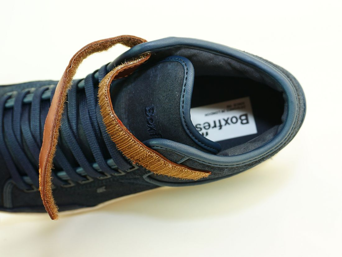 Boxfresh Schnürschuhe Schuhe Swich Blok UH WXD E-14762 Navy Braun Sneaker SH17-BFS1
