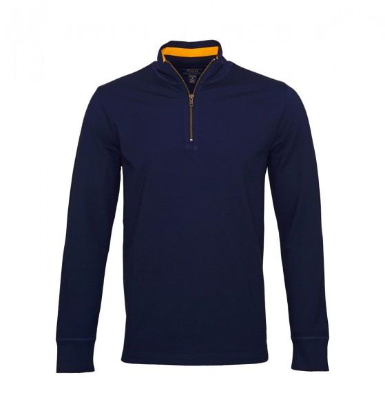 Ralph Lauren Sweatshirt Zipper Pullover 71470521 6002 Navy W19-RL3