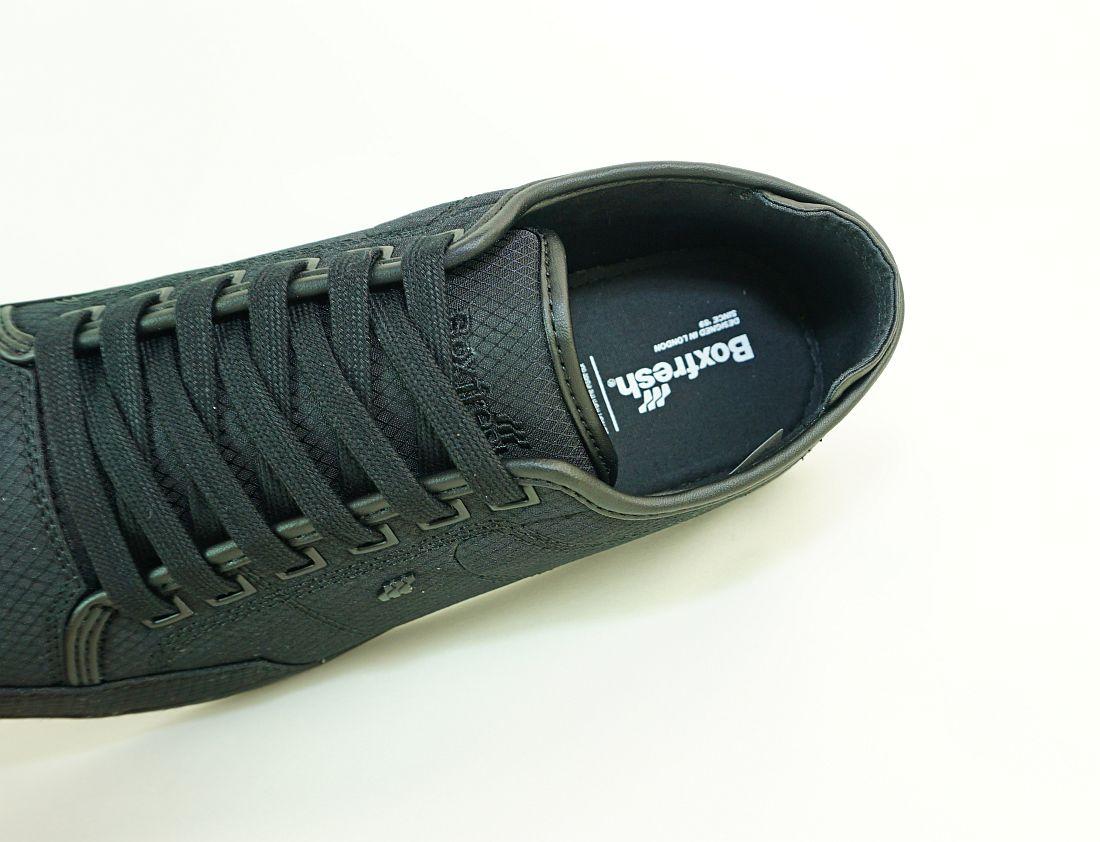 Boxfresh Schnürschuhe Schuhe Sparko SH RIP NYL E-15062 Black Sneaker SH17-BFS1