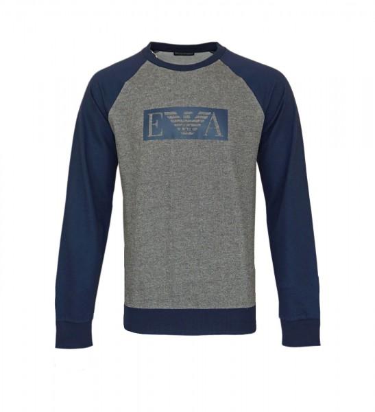 Emporio Armani Sweater Pullover R-Neck 111062 0A566 06749 grey, navy HW20-AP1