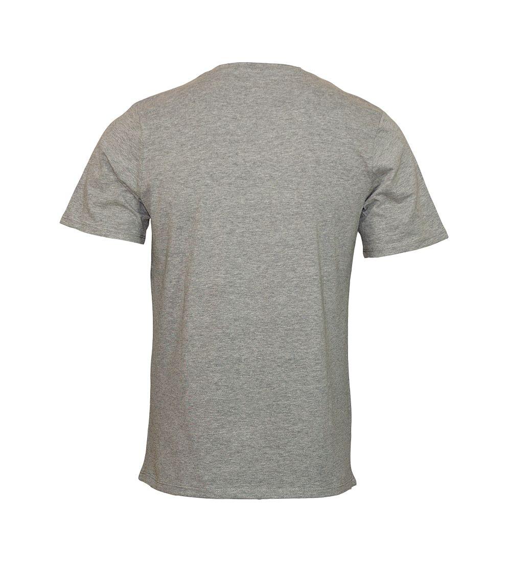 Jack & Jones Shirt T-Shirt Rundhals Jortraffic Light Grey Melange 12123035 WF17-TJJ1