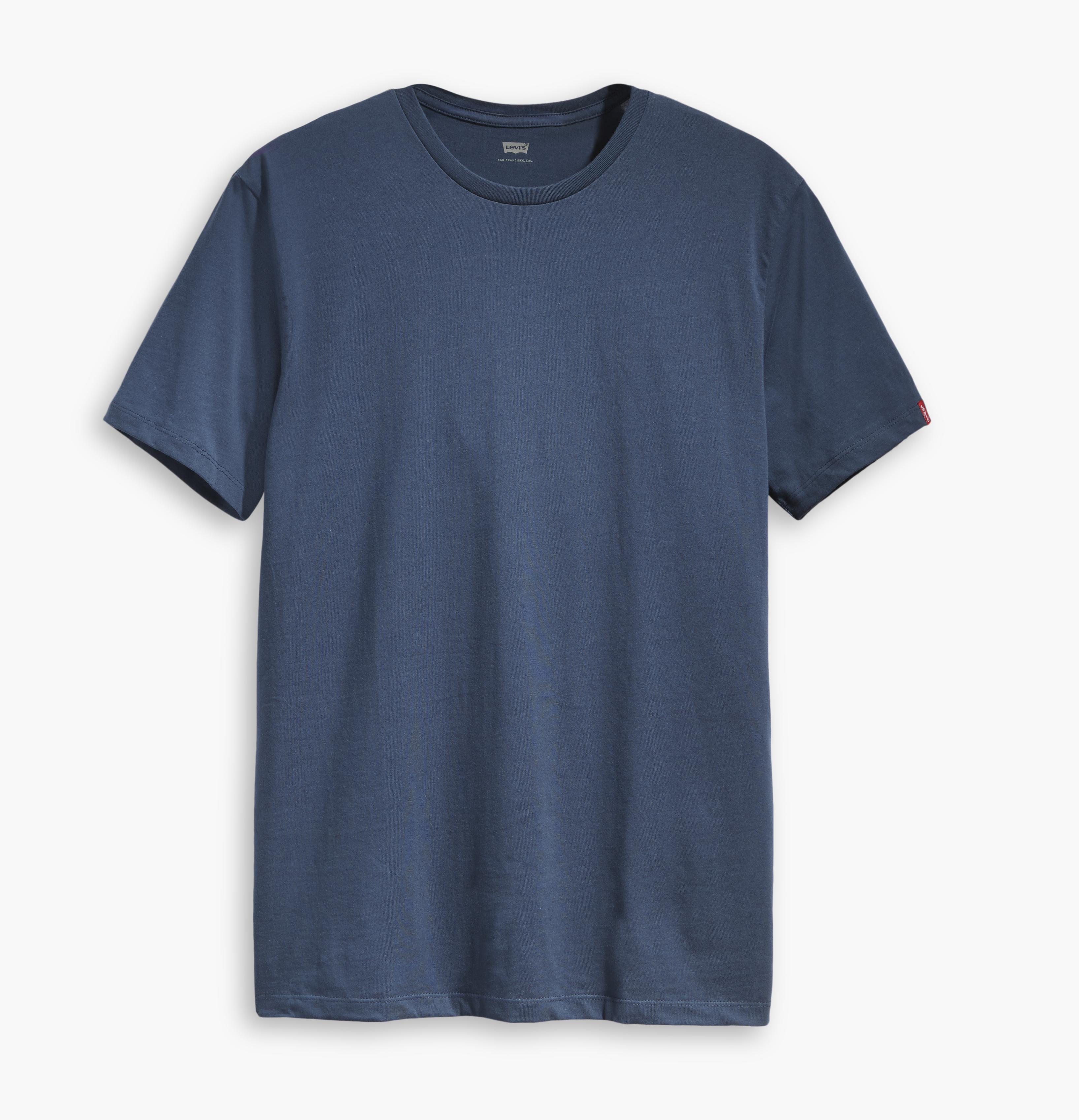 LEVIS 2er Pack Shirts Rundhals T-Shirt 82176-0004 navy W18-LVT1
