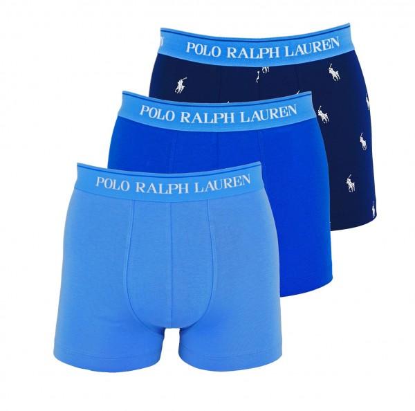 Ralph Lauren 3er Pack Trunks Classic 71466205 0054 blue WF20-RL1