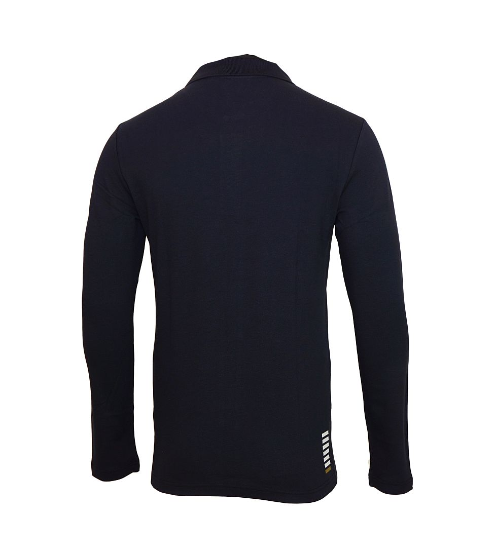 EMPORIO ARMANI EA7 Poloshirt Longsleeve 6XPF53 PJ04Z 1578 blu notte HW16