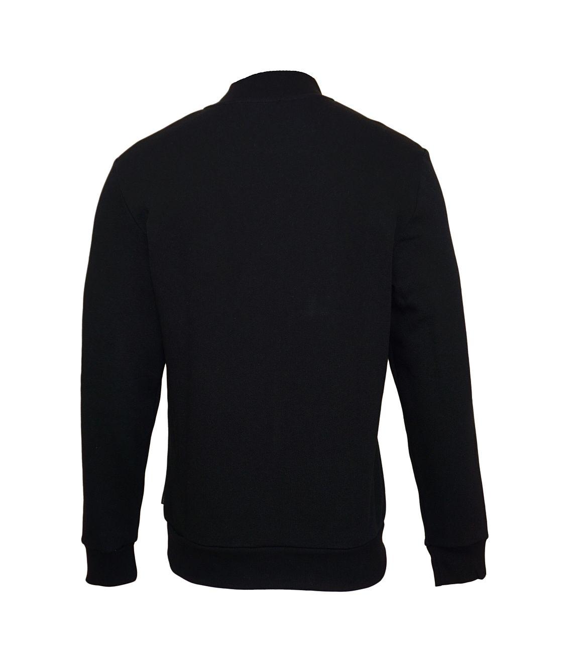 Emporio Armani Sweater Pullover Zip 111704 8A575 00020 NERO WX18-EAS