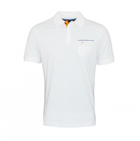 Daniel Hechter Polo Poloshirt 75022 191914 10 White WF19-DHP1