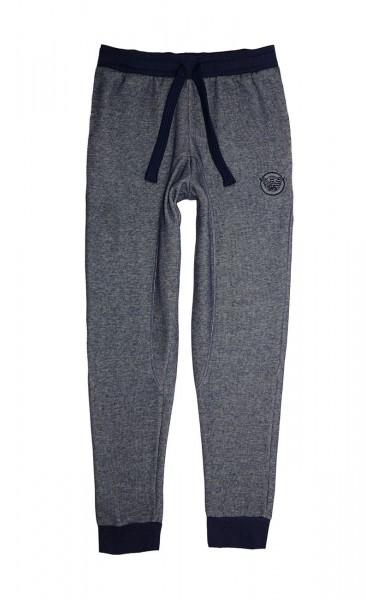 Emporio Armani Hose Jogginghose Trousers 111616 8A575 52635 BLU MELANGE W19-EAH1