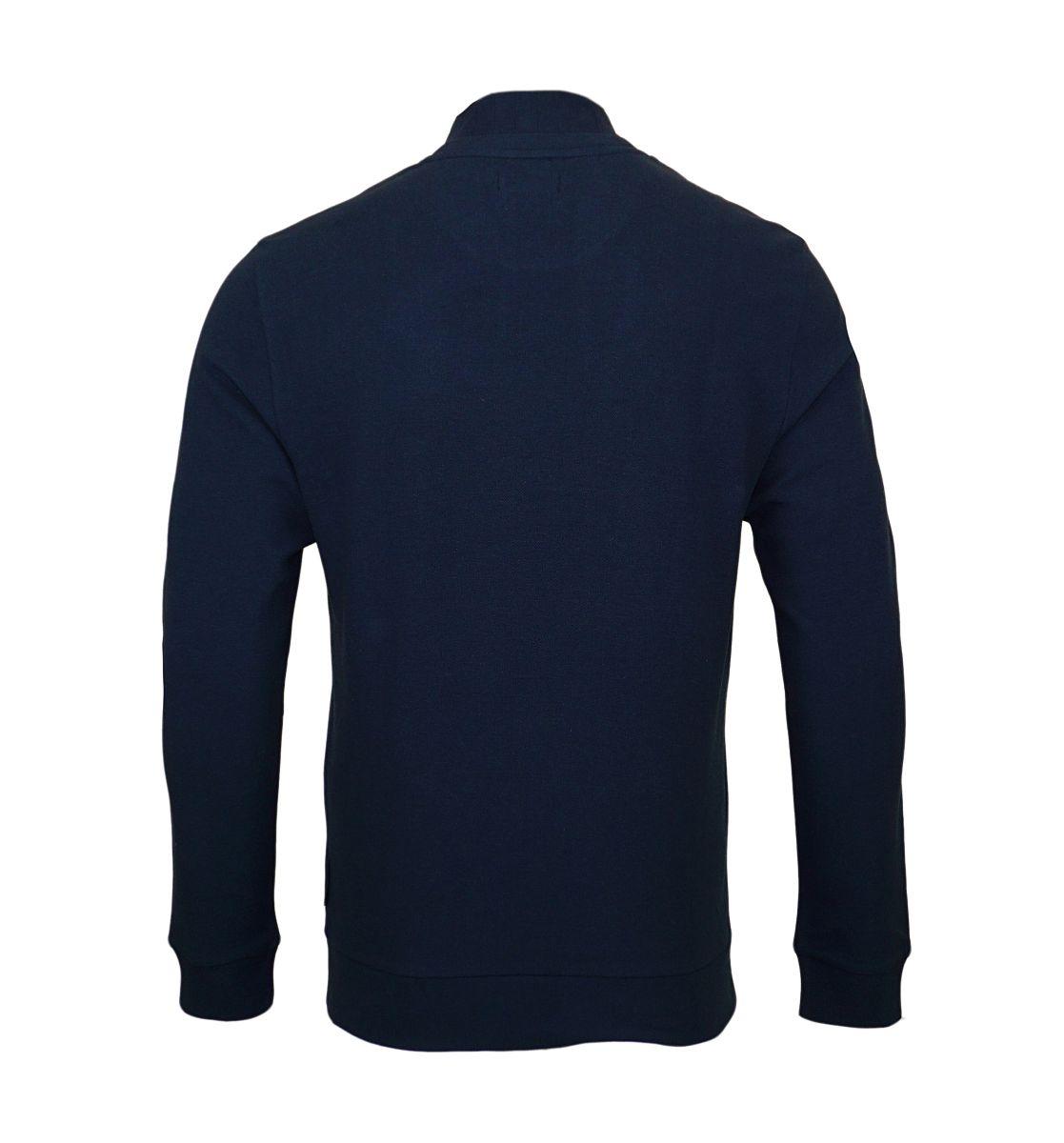 Emporio Armani Sweater Pullover Rundhals 111437 7A569 00135 MARINE HW17-EAS1
