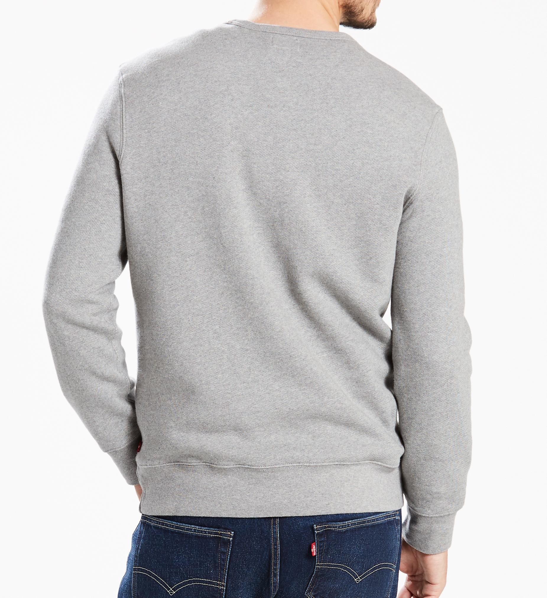 LEVIS Sweater Rundhals Pullover 17895-0030 grau W18-LVP1