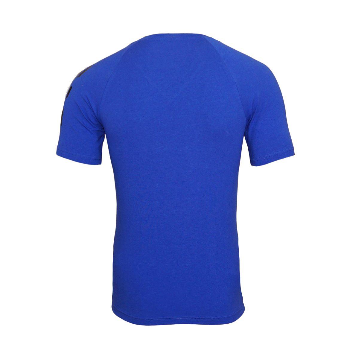 Emporio Armani T-Shirt V-Ausschnitt 111760 8P725 20533 ULTRAMARINE W18-EATS1