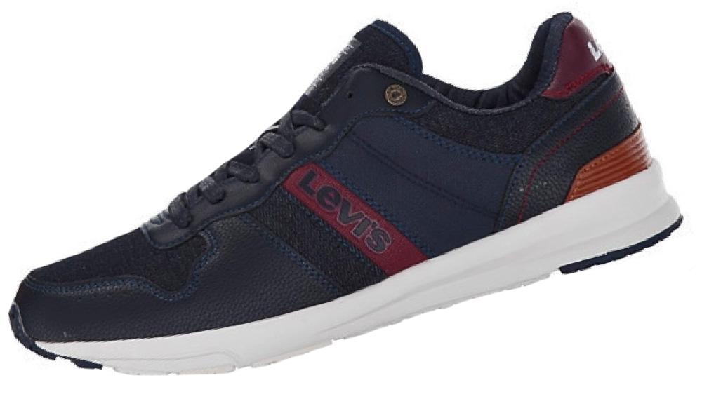 Levis Schuhe Sneaker BAYLOR 227240 727 17 navy, braun SH18-LS1