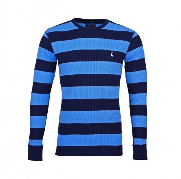 Ralph Lauren Longsleeve Langarmshirt 71470522 8008 blue WF19-RLL1