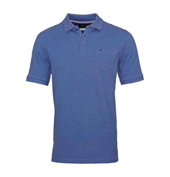 Daniel Hechter Poloshirt Polo T-Shirt 75028 191915 640 blue WF19-DHP1