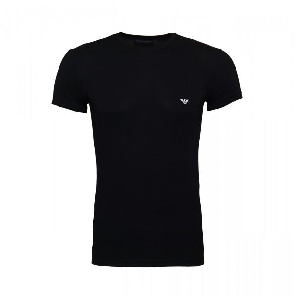 Emporio Armani T-Shirt Rundhals 111035 CC735 00020 black WF19-EAT4