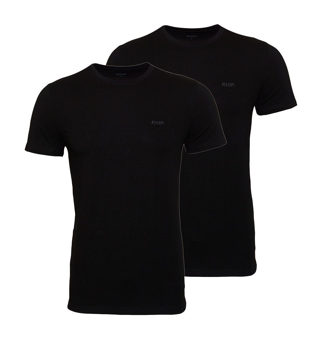 JOOP 2er Pack T-Shirts Shirts Rundhals 10001475 schwarz WF17-JOT1