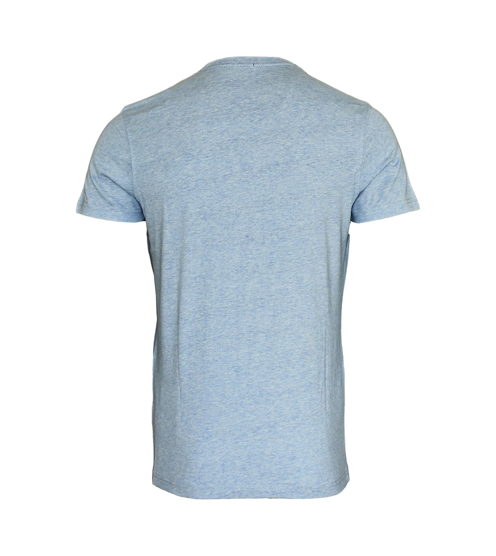 TOMMY HILFIGER Shirt T-Shirt Tee-Shirt Gow cn tee ss hellblau