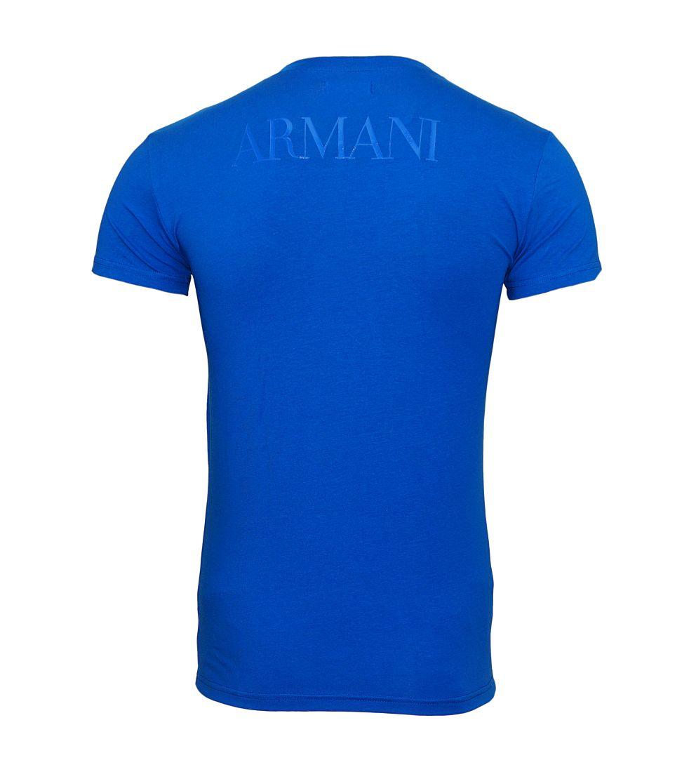 EMPORIO ARMANI Shirt T-Shirt BLU CINA 111035 7P516 03833 WF17-EATS1