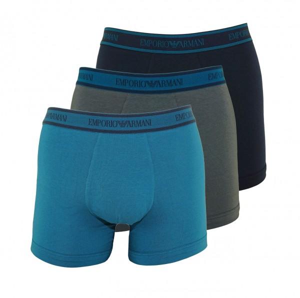 Emporio Armani 3er Pack Boxer Shorts 111473 9A717 23544 multicolor SH19-AB1
