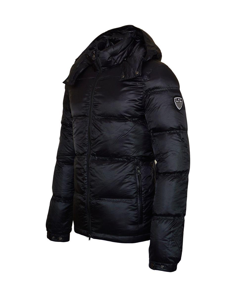 EA7 Jacke Down Jacketmit Kapuze Winterjacke 6YPB25 PNE2Z 1200 Black Emporio Armani SH17-WJ1