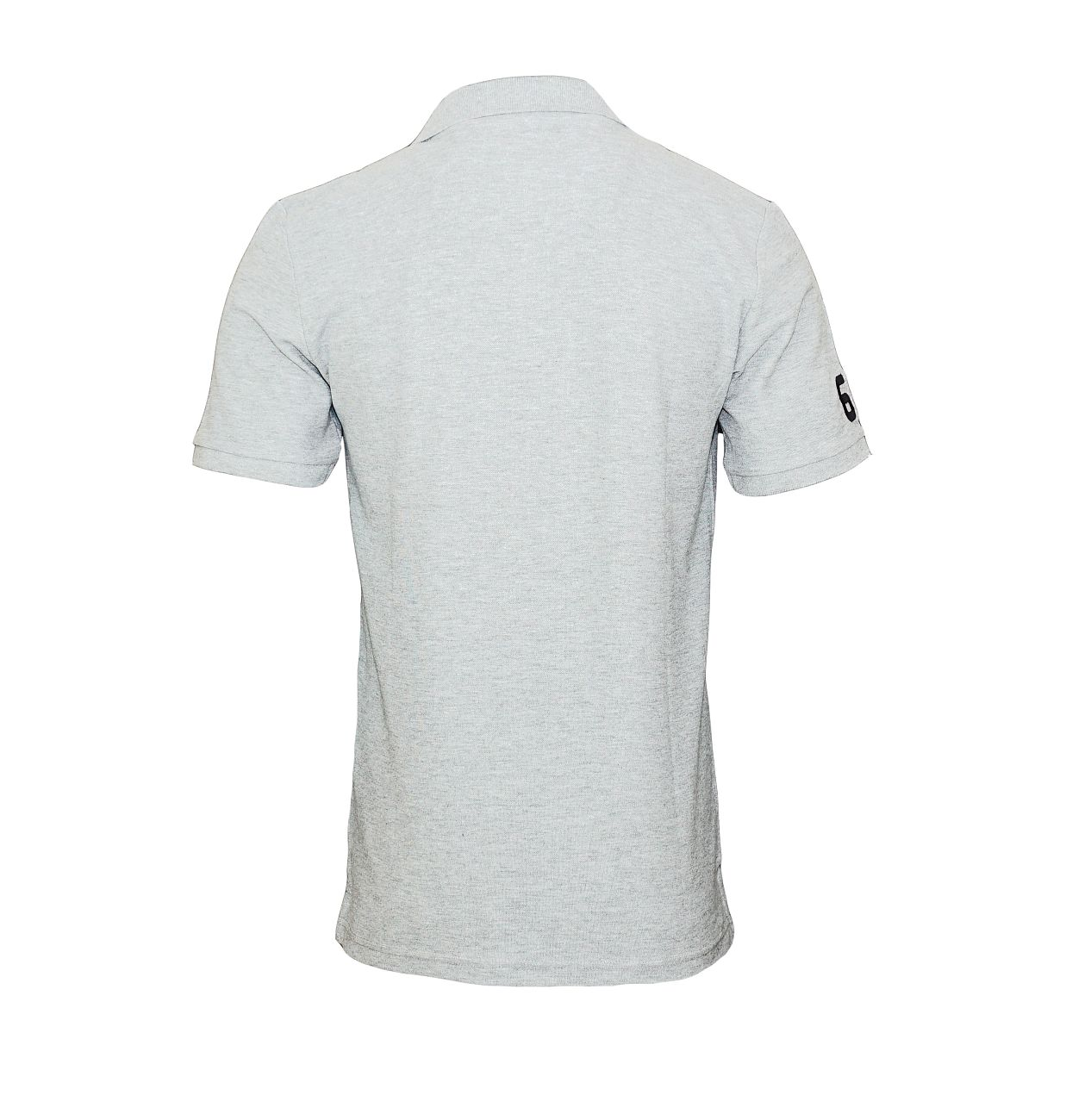 Daniel Hechter T-Shirt Poloshirt Polo 75100 181990 910 grau silver F18-DHP2