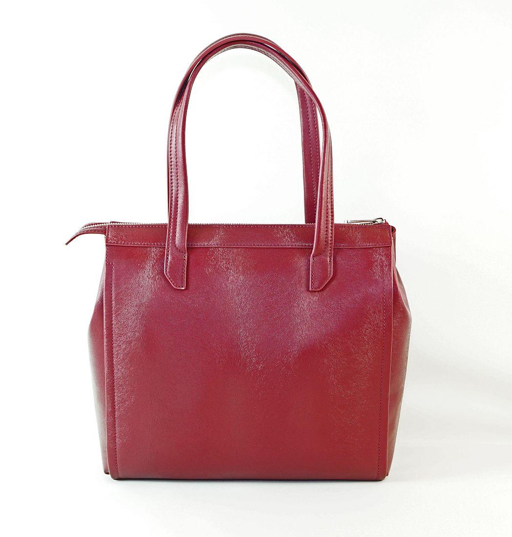 Armani Jeans Handtasche Shopper Tasche WOMEN'S SHOPPING BAG 922102 6A728 00176 Bordeaux HW16-1
