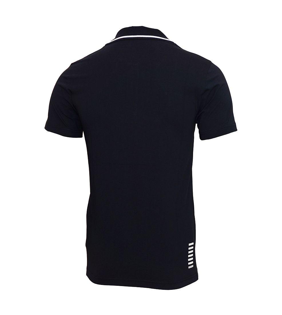 EA7 EMPORIO ARMANI Shirt T-Shirt Poloshirt 6XPF51 PJ03Z 1200 nero HW16