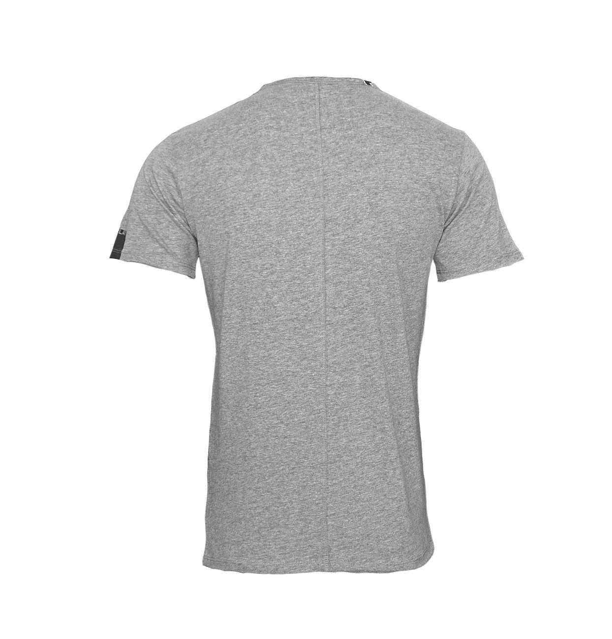 Replay T-Shirt Shirt V-Ausschnitt M3591.000 2660.M03 DARK GREY MELANGE S18-RPT4