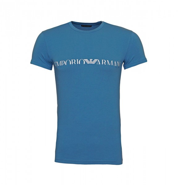 Emporio Armani T-Shirt Crew-Neck 111035 9A516 16531 blue SH19-EAX1