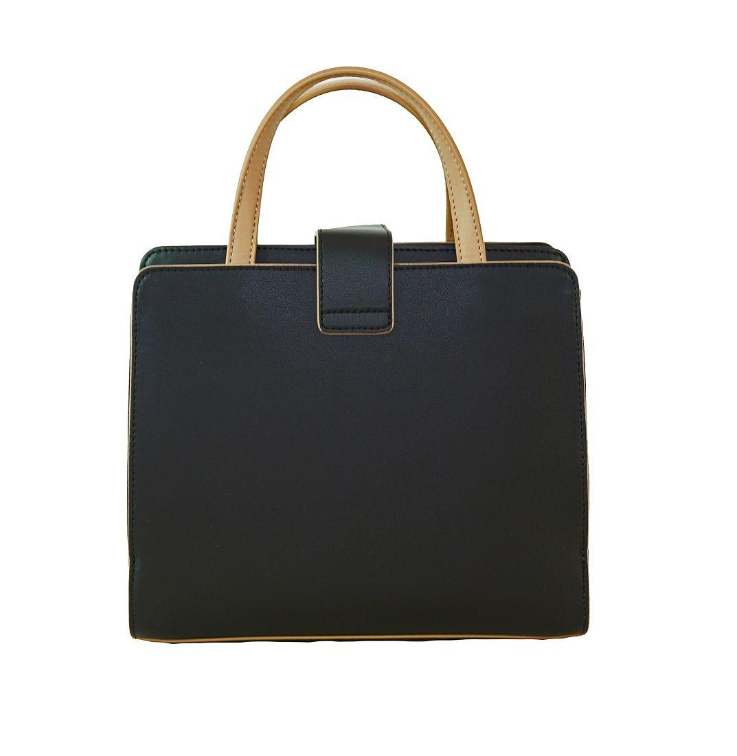 Armani Jeans Tasche Handtasche f. Damen 922123 6A730 41620 Nero Tannin