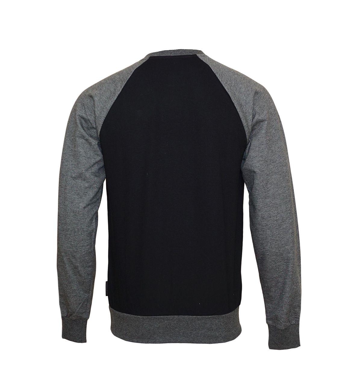 Emporio Armani Pullover Sweater Rundhals 111062 8A566 00020 NERO WX18-EAS