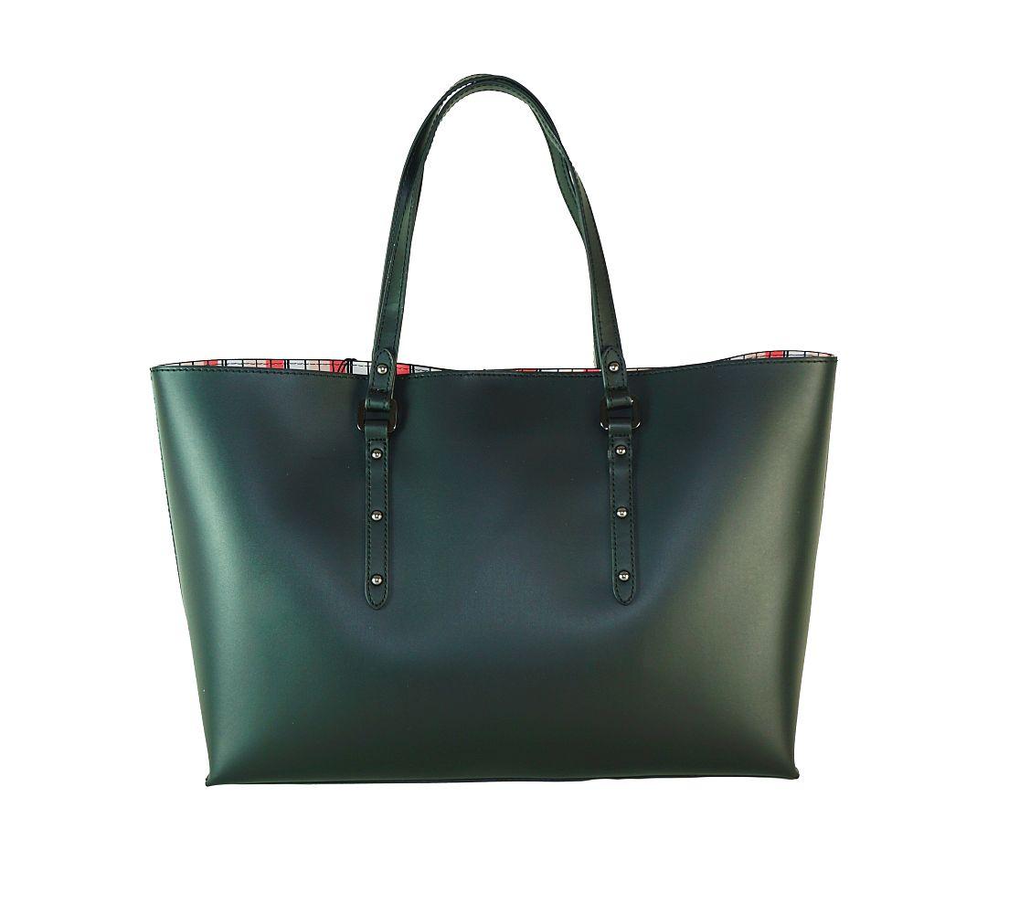 Armani Jeans Tasche Bosra Shopping Castiglia 922171 7P757 00020 Nero Handtasche S17-AJT1