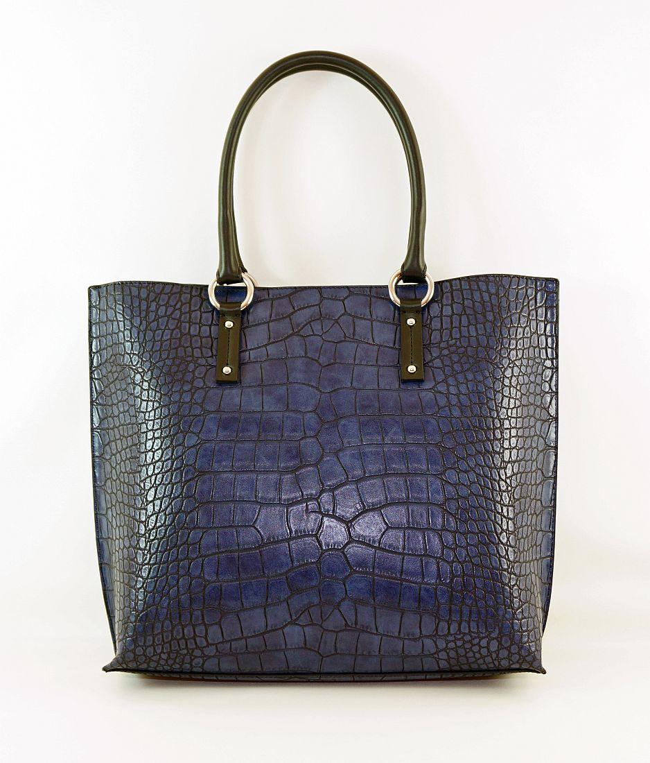 Armani Jeans Handtasche Shopper Tasche WOMEN'S SHOPPING BAG 922145 6A711 31835 Dark Navy HW16-1