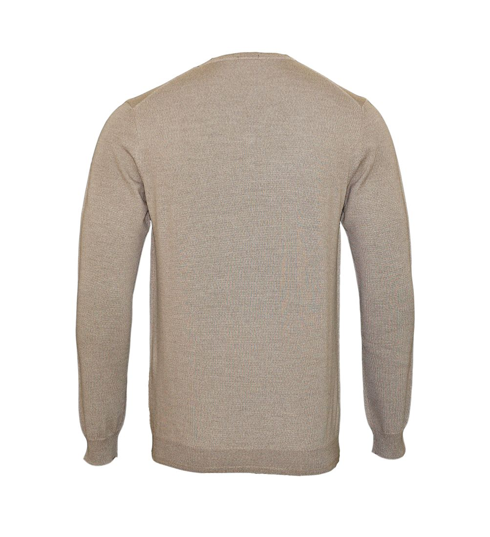 JOOP Strickpullover Pullover Damien V-Ausschnitt 10001600 259 beige S17-JOP1