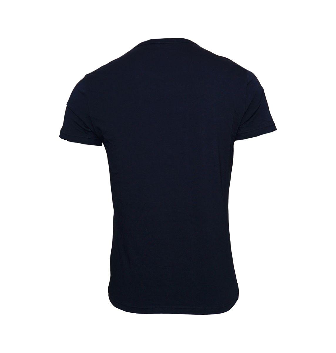 Emporio Armani 2er Pack T-Shirts Rundhals 111267 8P717 27435 MARINE/MARINE W18-EATS1