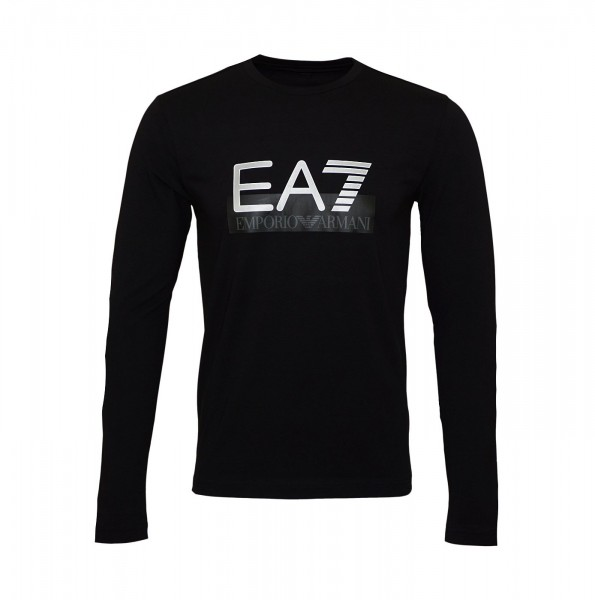 EA7 Emporio Armani Longsleeve Shirt R-Neck 6GPT64 PJ03Z 1200 black HW19-EAL1