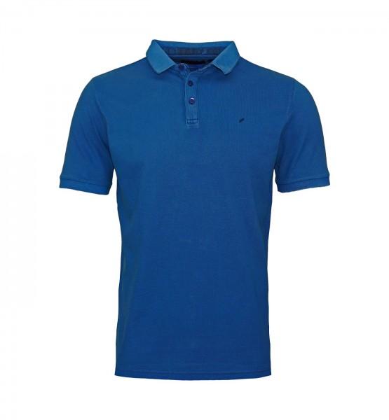 Daniel Hechter Polo Poloshirt 75035 191916 680 blue FS19-DHP2