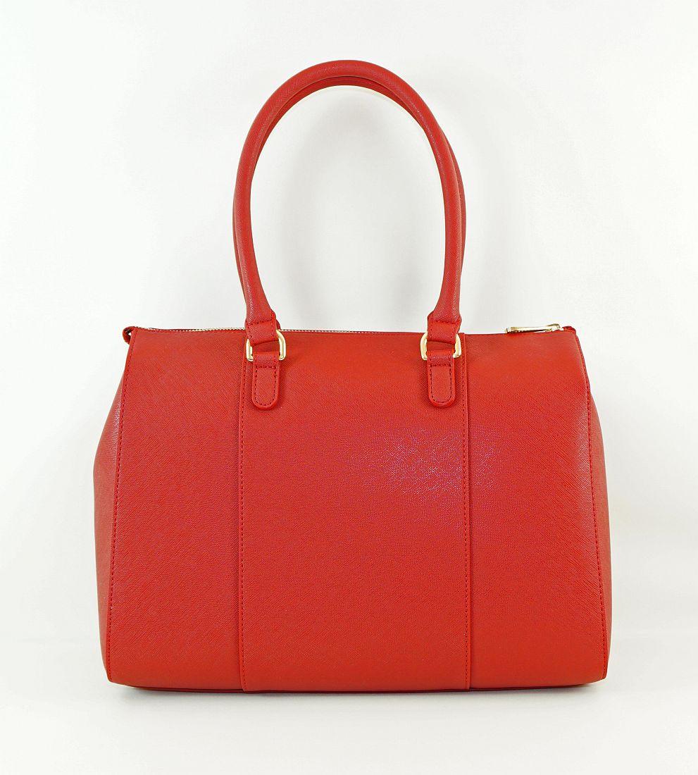 Armani Jeans Handtasche Shopper Tasche WOMEN'S SHOPPING BAG 922574 CC857 00176 Bordeaux HW16-1