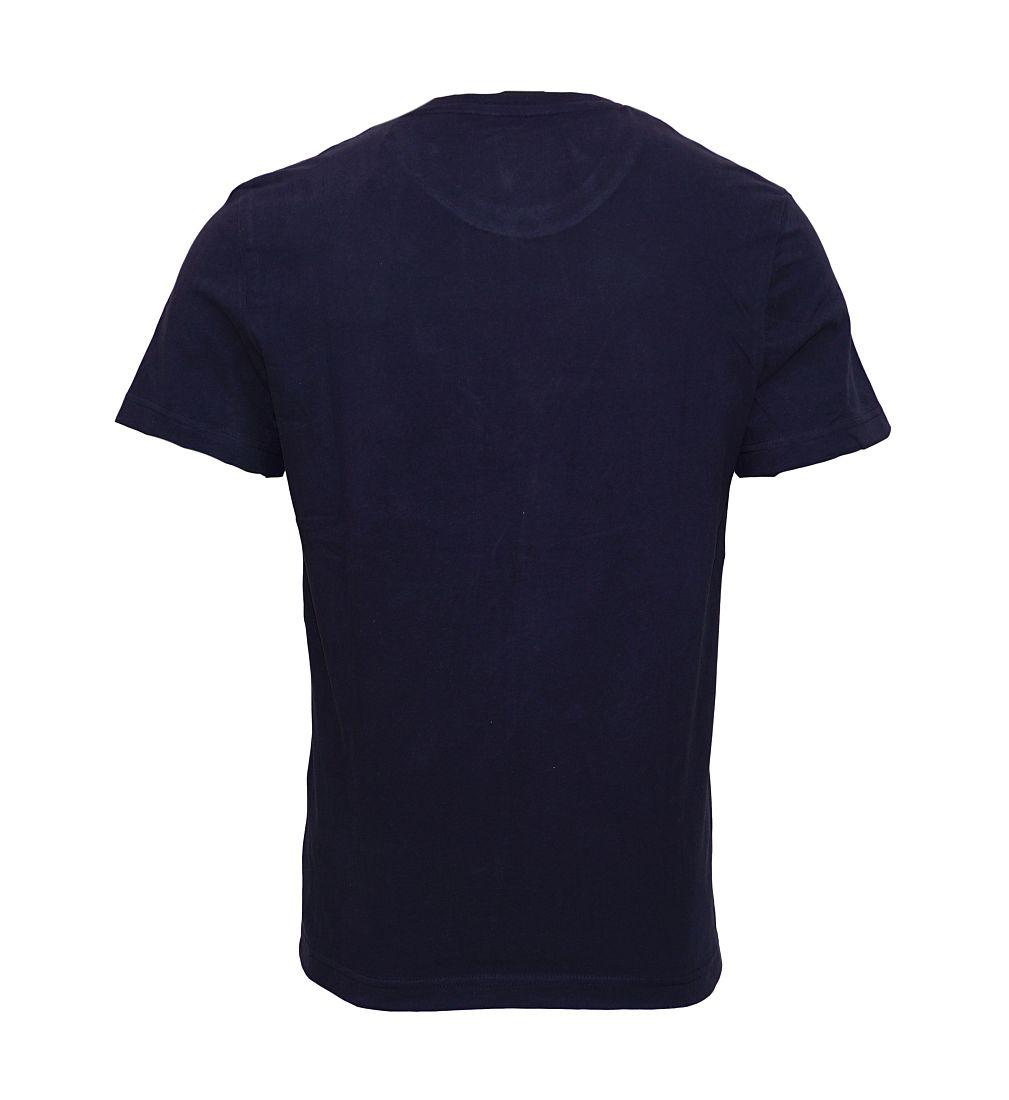 Tom Tailor T-Shirt Tee Shirt knitted navy 1038209 0010 6800 WF17-JT1