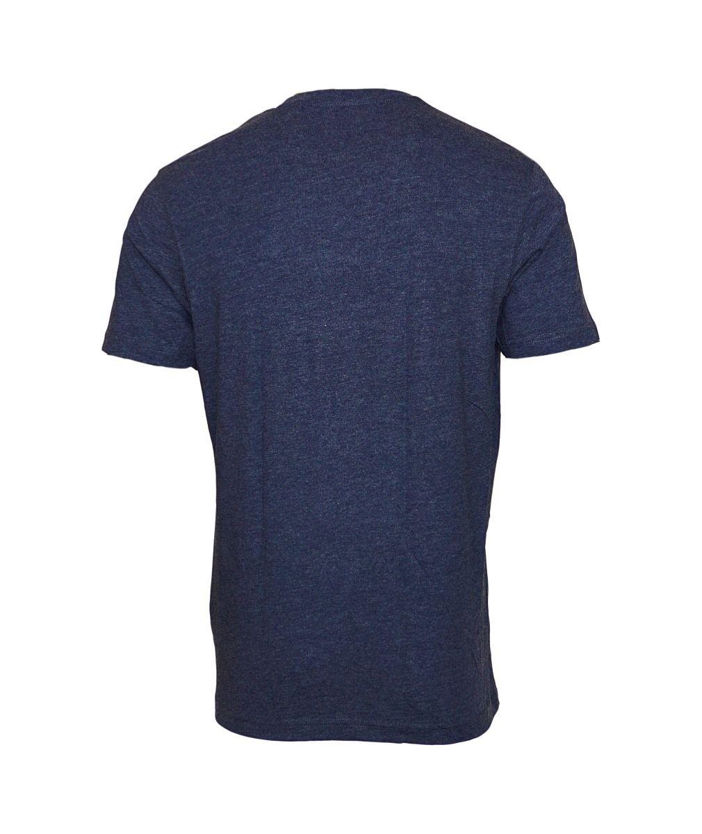 Daniel Hechter 2er Pack T-Shirts Rundhals 76001 172972 680 blau melange SH17-DH2P