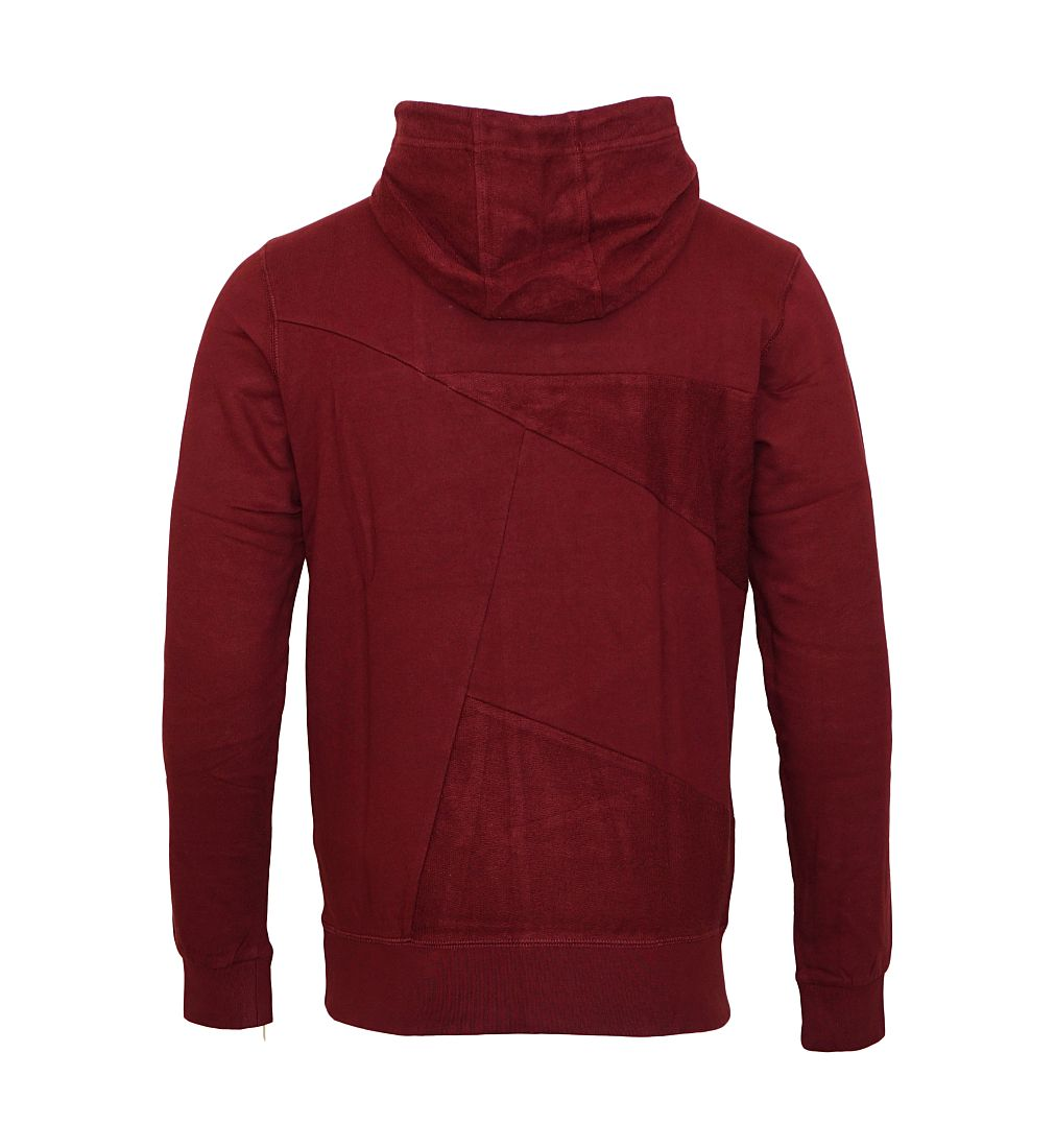 Petrol Industries Sweater Pullover Sweat Hooded weinrot MFW16 SWH375 393 mit Kapuze HW16-3