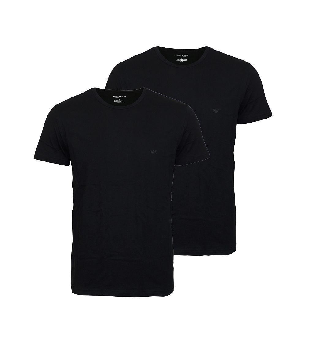 EMPORIO ARMANI 2er Pack Shirt T-Shirt schwarz 111647 CC722 07320 HW16