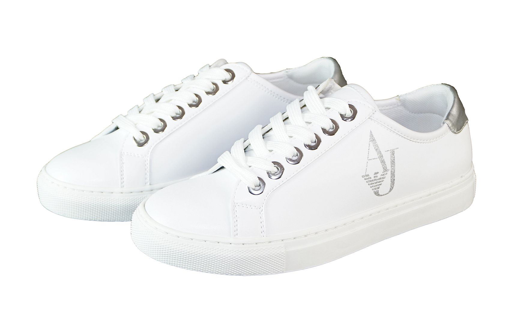 Armani Jeans Schnürschuhe SNEAKER ARMANINA 925220 7P610 00010 Bianco weiss S17-AJS1