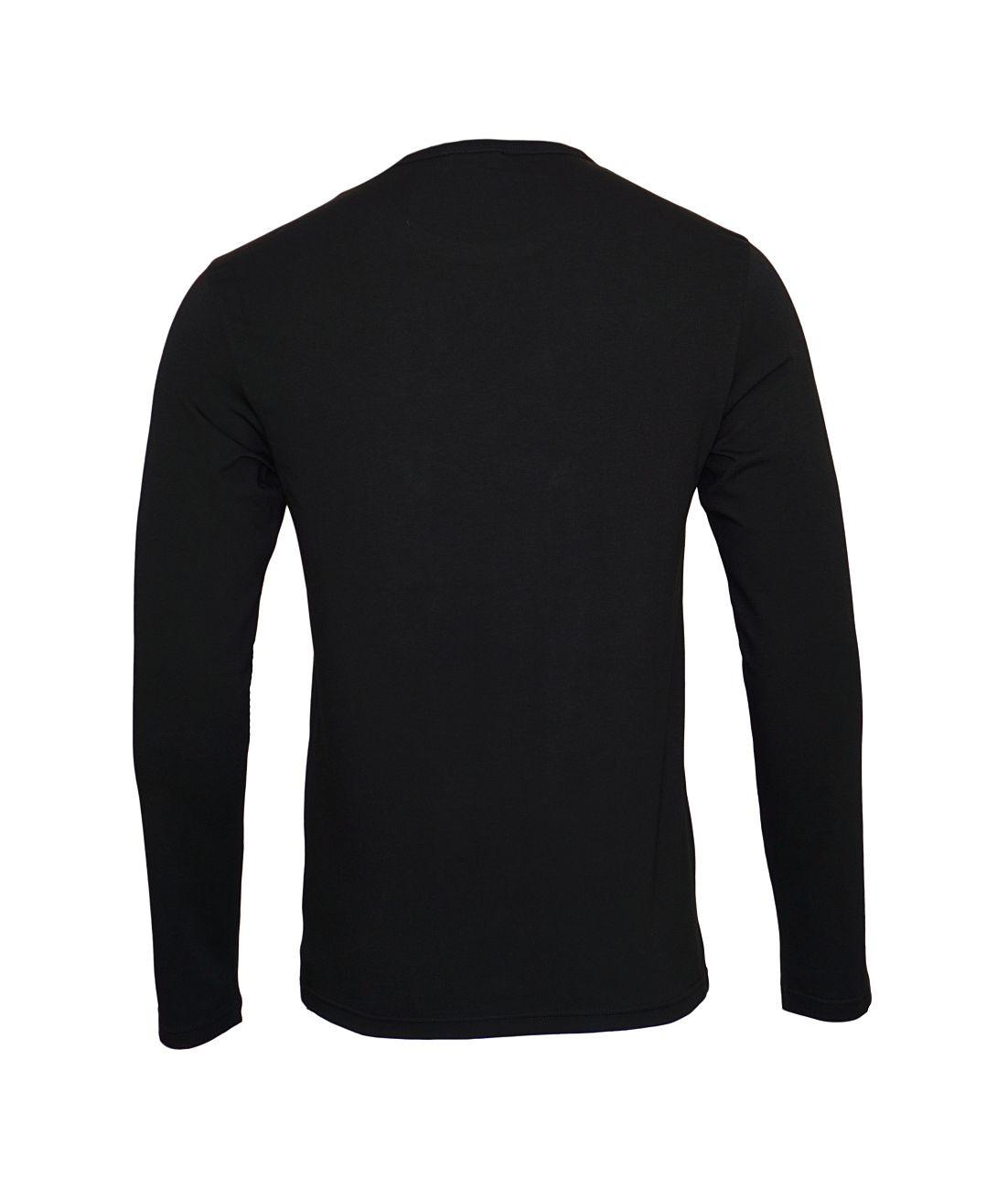 Emporio Armani Longsleeve Rundhals Shirt 111653 8A715 00020 NERO WX18-EAX