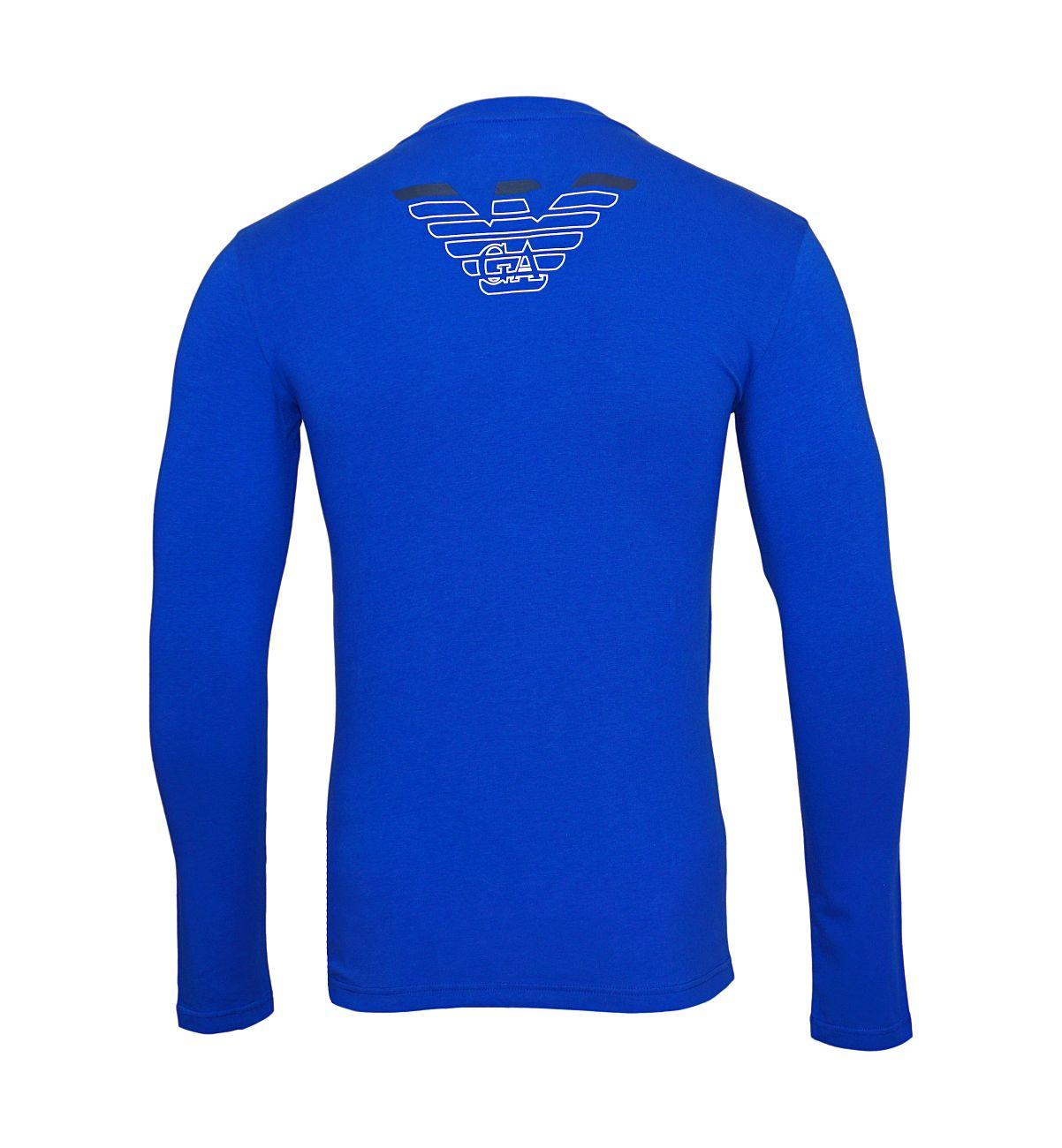 Emporio Armani Longsleeve Rundhals Shirt 111023 8A725 23233 MAZARINE WX18-EAL