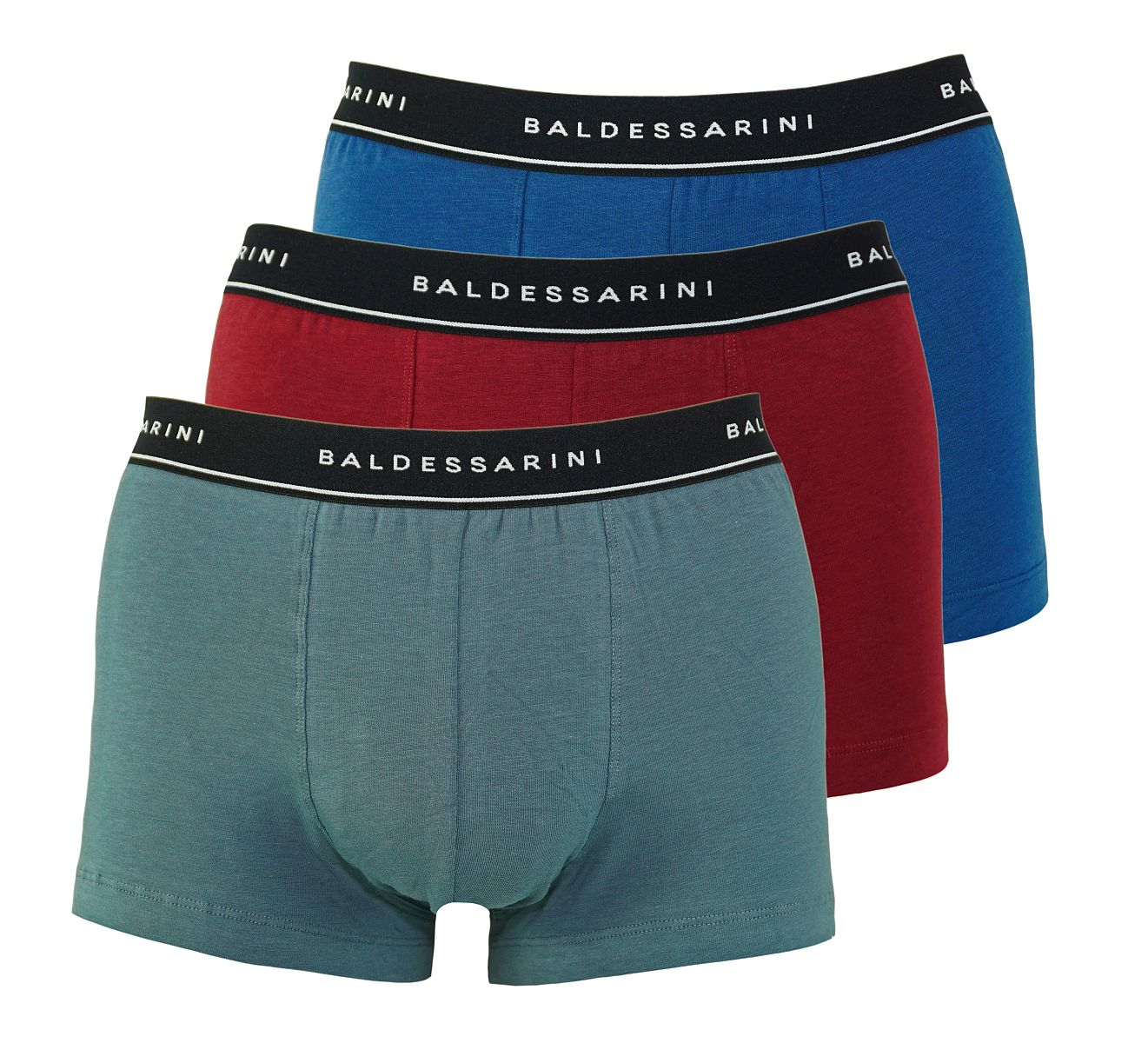 Baldessarini 3er Pack Shorts Trunks 90002 6061 420 red mediu W18-BSS1