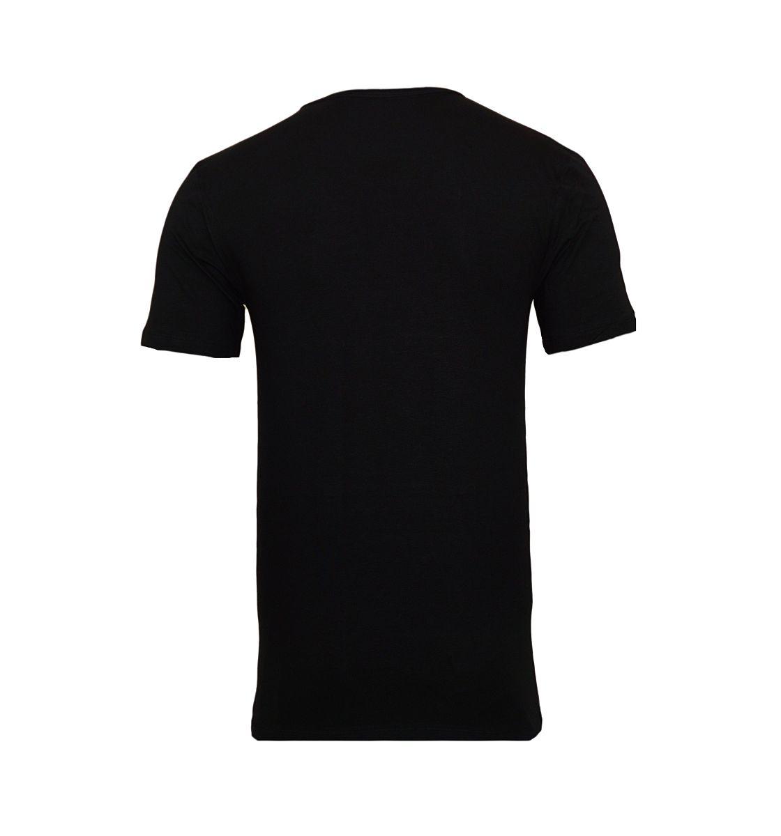 Baldessarini 2er Pack T-Shirts Kurzarm 90004 6061 9009 jet black W18-BST1