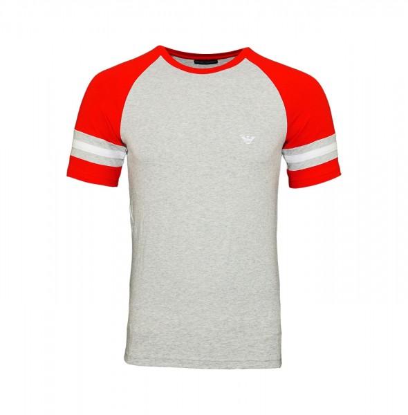 Emporio Armani T-Shirt Rundhals 111811 9P529 00048 hellgrau FS19-EAT1
